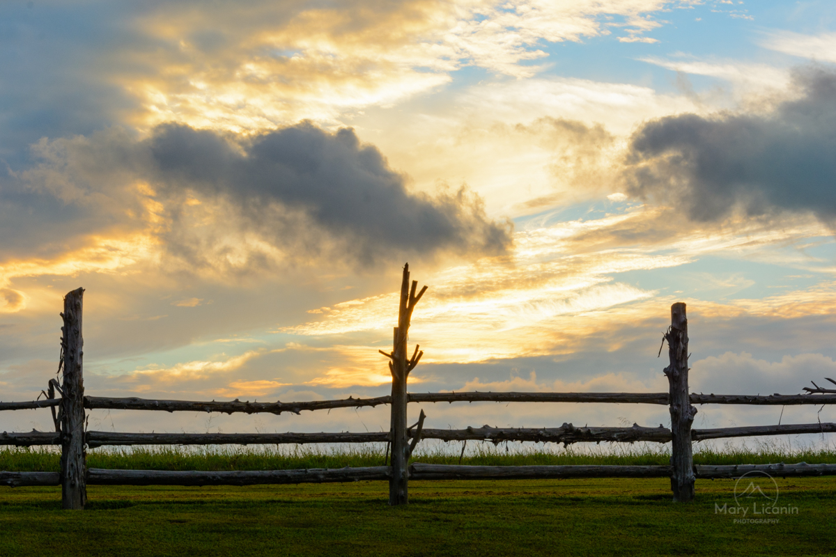 Good Fences by Mary Licanin Fine Art Photography